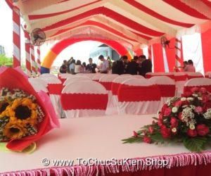 Tổ chức Lễ Khánh Thành Công Ty FUKUDA GLOVE